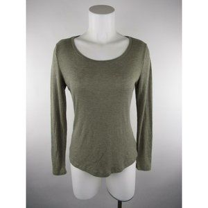 Mossimo Supply Co Polyester Rayon Ribbed Knit Top
